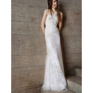 Vera Wang Bridal Olympia 110515 Silk Tulle Gown